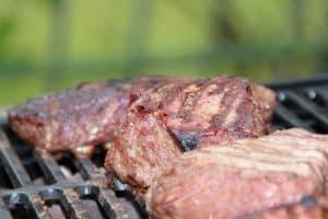 רשת עם בשר